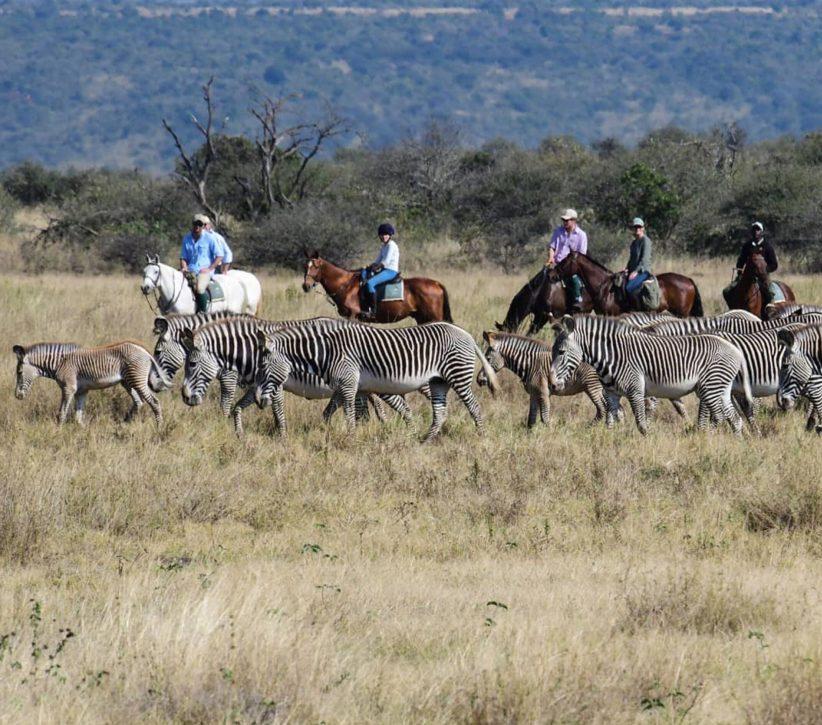 Sosian Horseback Riding