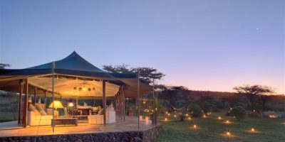 Kenya Richards River Camp Dining Tent Exterior